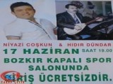 Bozkır'da Niyazi Coşkun ve Hıdır Dündar'dan Halk Konseri