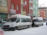 Bozkırda Yoğun Kar yağışı Sonrası Yollar Kapalı